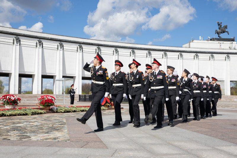 100-я вахта Почетного караула пройдет у Музея Победы в День защиты детей