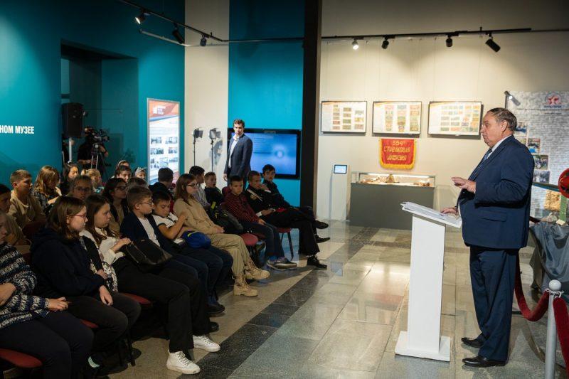 В Музее Победы прошел цикл уроков о битве за Москву